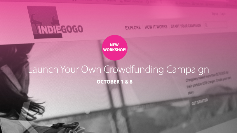 Launch Your Own Crowdfunding Workshop at Innovation Guelph
