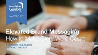 Elevated Brand Messaging workshop promotion