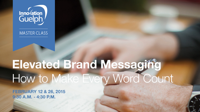Elevated Brand Messaging workshop promotion