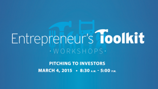 Pitching To Investors workshop