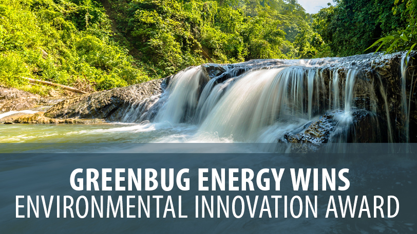 Greenbug Energy Wins Environmental Innovation Award