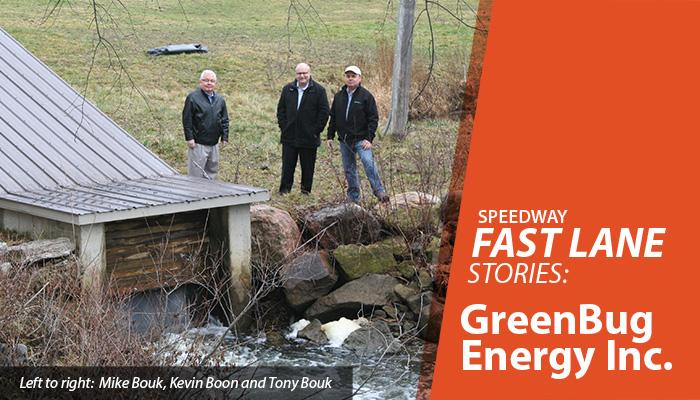 Speedway Fast Lane Stories: GreenBug Energy Inc