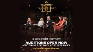 Dragon's Den Audition Tour