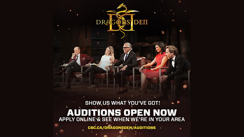 Dragon's Den Audition Tour