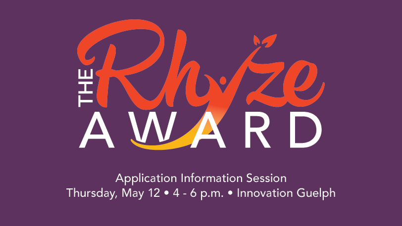 2016 Rhyze Award Information Session May 12