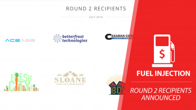 Fuel Injection Round 2 Recipients Announced