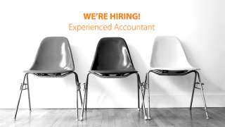 We're Hiring! An Experienced Accountant
