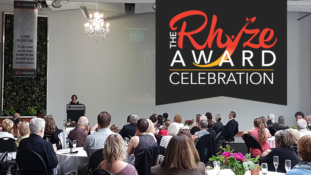 2017 Rhyze Award celebration