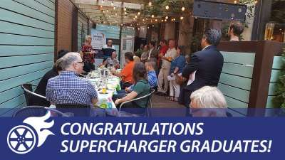 Congratulations Supercharger Graduates!