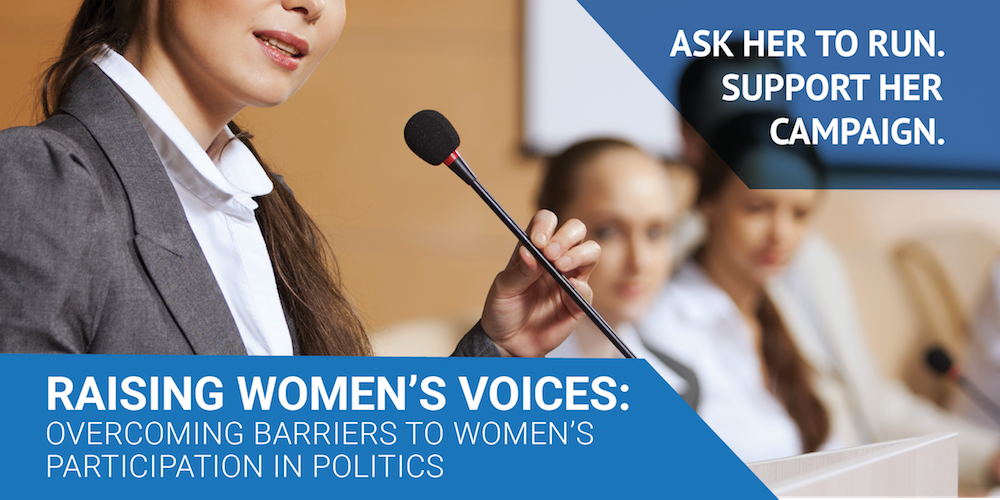 Info Session-Ask a female politician