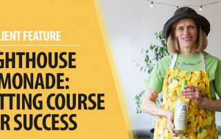 Lighthouse Lemonade: Setting course for success