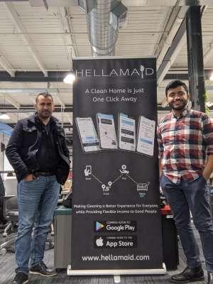 Left to right: Abdulrahman El-Sayed, Ahmed Mezil