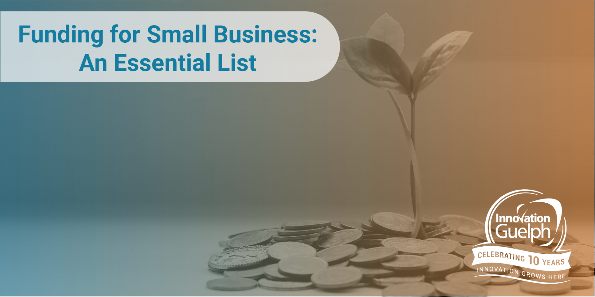 Funding for small business blog