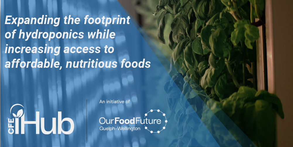 Expanding the footprint of hydroponics while increasing access to affordable, nutritious foods